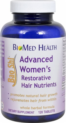 Biomed Health  Advanced Women's Bao Shi™ Restorative Hair Nutrients Perspective: front