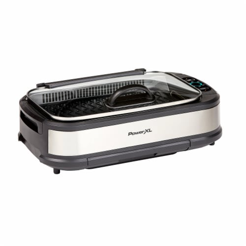 PowerXL Pro Smokeless Grill Perspective: front