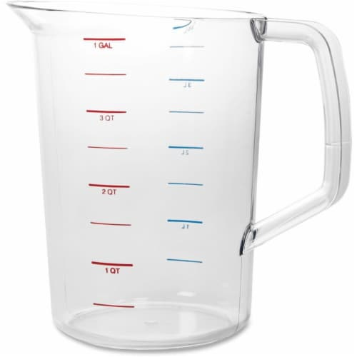 4 qt. Bouncer Measuring Cup Perspective: front