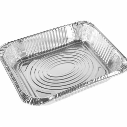 9 x 13 in. Half Deep Aluminum Pan - Pack of 100 Perspective: front