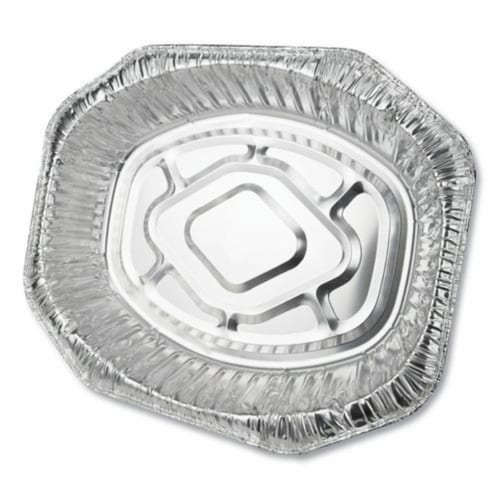 DPK Oval Aluminum Roaster Pans - Extra Large Perspective: front