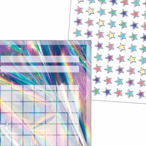 Incentive Charts & Stickers - Iridescent Set Perspective: front