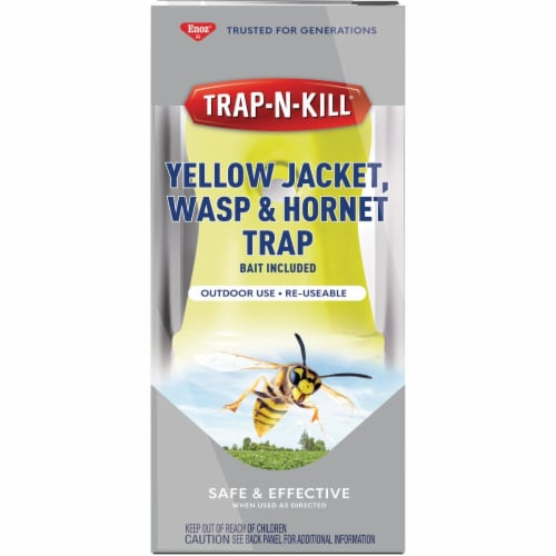 Enoz Reusable Wasp & Yellow Jacket Trap ET5000.6 Perspective: front