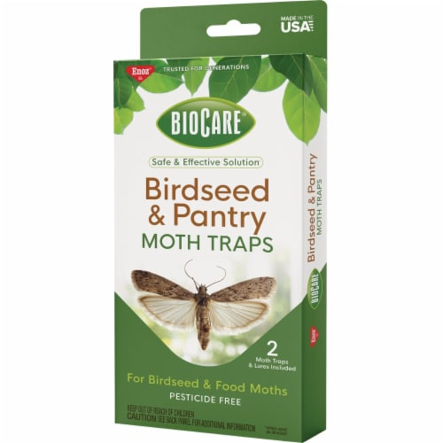Enoz Glue Birdseed Moth Trap (2-Pack) EB7100.6T Perspective: front