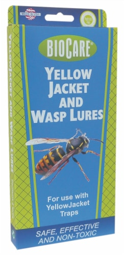 BioCare® Yellow Jacket and Wasp Lures Perspective: front