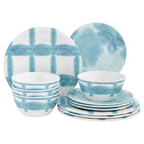 Baum Dinnerware Set - Tie Dye Perspective: front