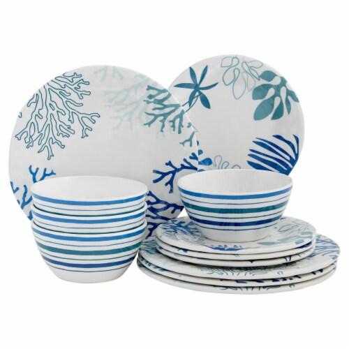 Baum Dinnerware Set - Coastline Perspective: front