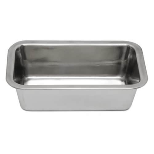 Stainless Steel Loaf Pan Perspective: front