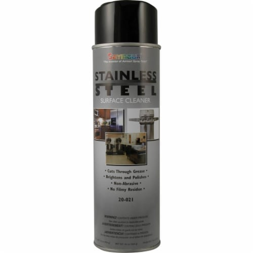 16 oz Stainless Steel Surface Cleaner - Pack of 12 Perspective: front