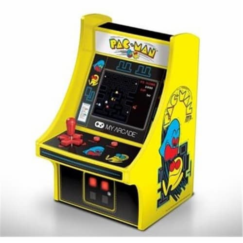 6 in. Collectible Retro Pac-Man Micro Playe Perspective: front