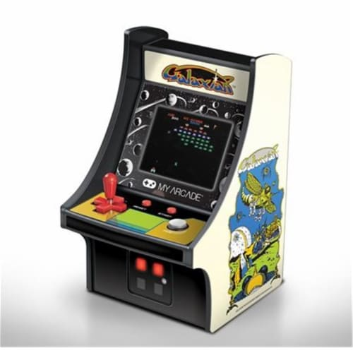 6 in. Collectible Retro Galaxian Micro Play Perspective: front