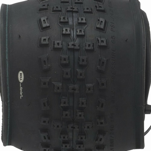 24 in. Mountain Bike Tire Perspective: front