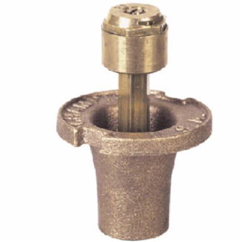 18SQ-12003 1.5 in. Brass Quarter Circular Sprinkler Head Perspective: front