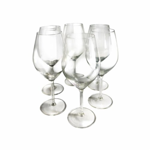 Illuminati White Wine Glasses - Set of 6 Perspective: front