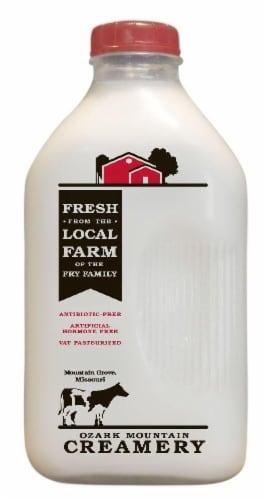 Ozark Mountain Creamery Whole Milk Perspective: front