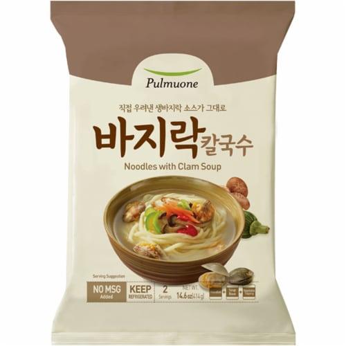 Pulmuone Oriental Noodle Clam Soup Perspective: front