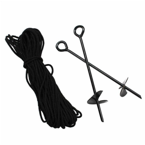 King Canopy A10200 Anchor Kit with Rope - 10 piece Perspective: front