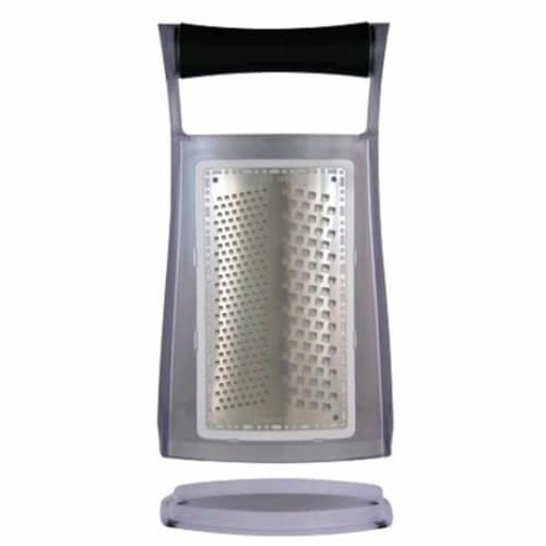 Jaccard 201204BGF2 Tri-Surface Box Grater -MicroEdge Technology Perspective: front