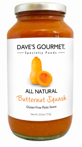 Dave's Butternut Squash Pasta Sauce Perspective: front