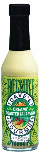 Dave's Gourmet  Hotsauce   Creamy Roasted Jalapeno Perspective: front