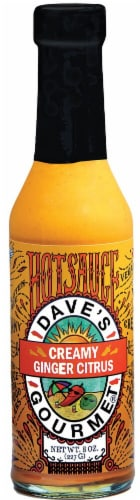 Dave's Gourmet  Hotsauce   Creamy Ginger Citrus Perspective: front