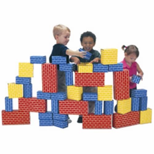 Smart Monkey Toys 1040 40 piece Giant Building Block set Perspective: front