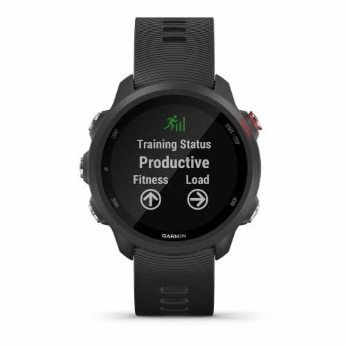 Garmin Forerunner 245 Music GPS Running Smartwatch - Black Perspective: front
