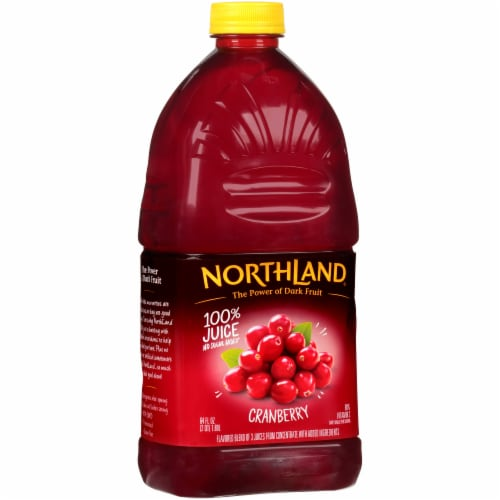 Northland 100% Cranberry Juice Perspective: front
