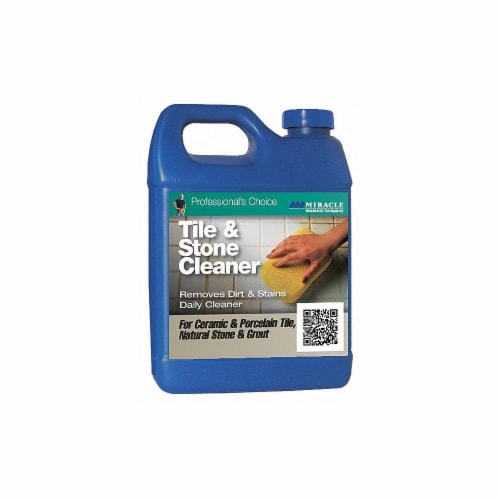 Miracle Sealants Company Stone Cleaner,32 oz. Bottle,PK6  TSC6QT Perspective: front