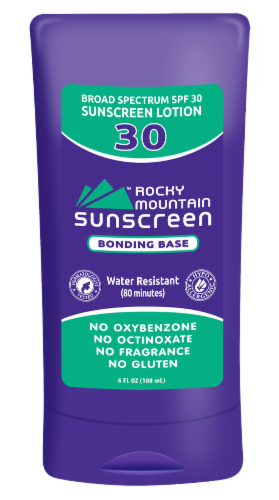 Rocky Mountain Sunscreen Bonding Base SPF30 Perspective: front