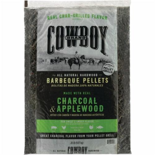 Cowboy 20 Lb. Apple Charcoal Pellets 54120 Perspective: front