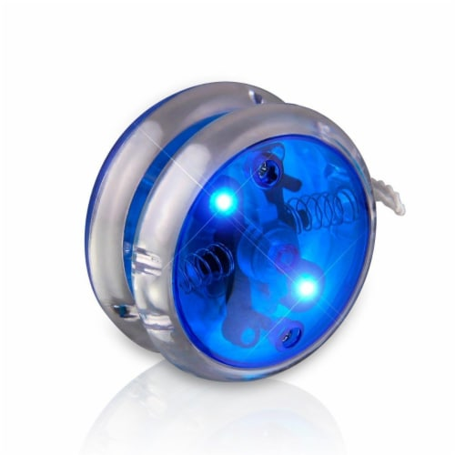 Blinkee 661000 Blue Yo Yo Flashing Light Up Toys Perspective: front