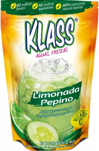 Klass Aguas Frescas Limonada Pepino Flavored Drink Mix Perspective: front