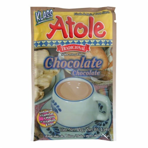 Klass Atole Chocolate Drink Perspective: front