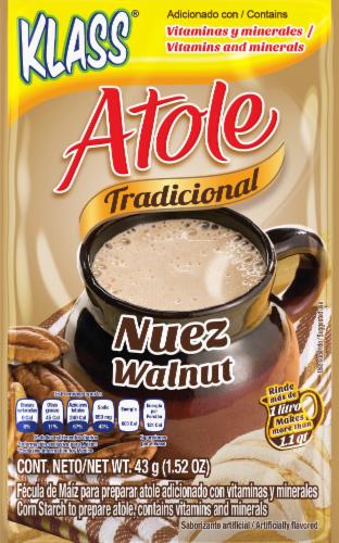 Klass Atole Tradicional Nuez Walnut Flavored Drink Mix Perspective: front