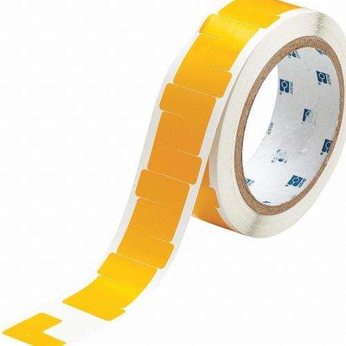 Brady Marking Tape,L,1In W,1In L,PK750  121415 Perspective: front