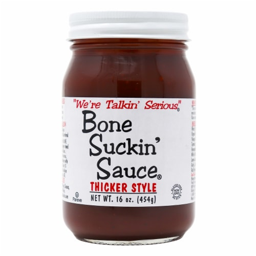Bone Suckin' Thicker Style Sauce Perspective: front