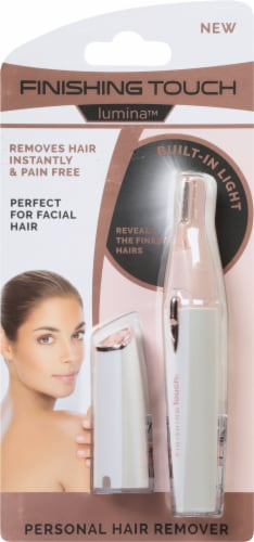 Idea Village Finishing Touch Lumina Personal Hair Remover Perspective: front