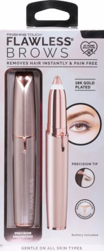 Finishing Touch® Flawless Brows Hair Remover Perspective: front