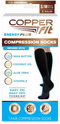Copper Fit™ Energy Compression Socks Perspective: front