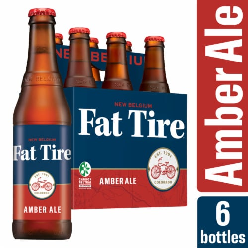 New Belgium Fat Tire Amber Ale Perspective: front