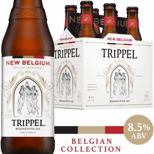 New Belgium Trippel Belgian Style Ale Beer Perspective: front