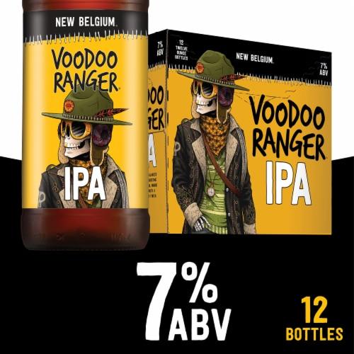 New Belgium Voodoo Ranger IPA Perspective: front