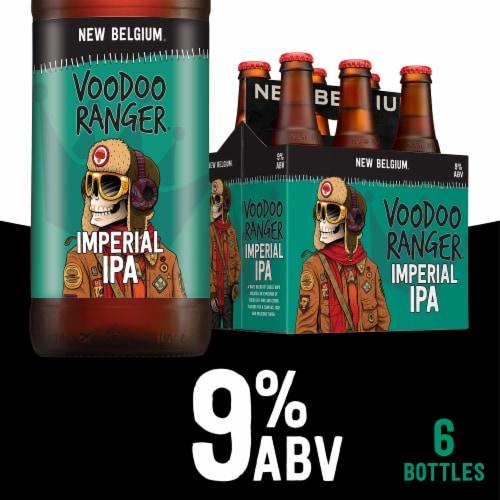 New Belgium Voodoo Ranger Imperial IPA Perspective: front