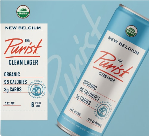 New Belgium The Purist Clean Lager Perspective: front
