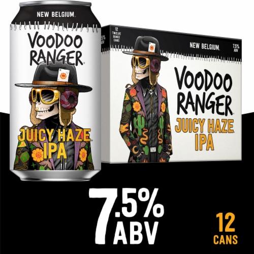 New Belgium Voodoo Ranger Juicy Haze IPA Perspective: front