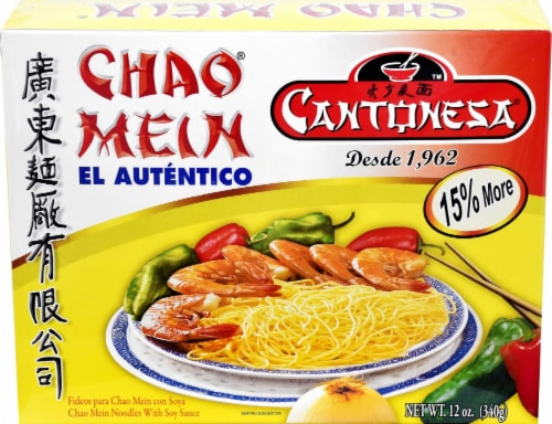 CANTONESA Chao Mein Noodles Perspective: front