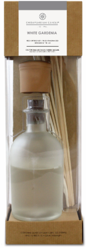 Chesapeake Bay Candle Heritage White Gardenia Reed Diffuser Perspective: front