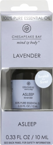 Chesapeake Bay Asleep Lavender Essential Oil Perspective: front