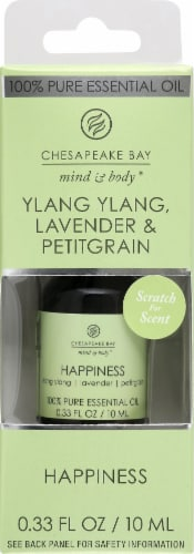 Chesapeake Bay Happiness Ylang Ylang Lavender & Petitgrain Essential Oil Perspective: front